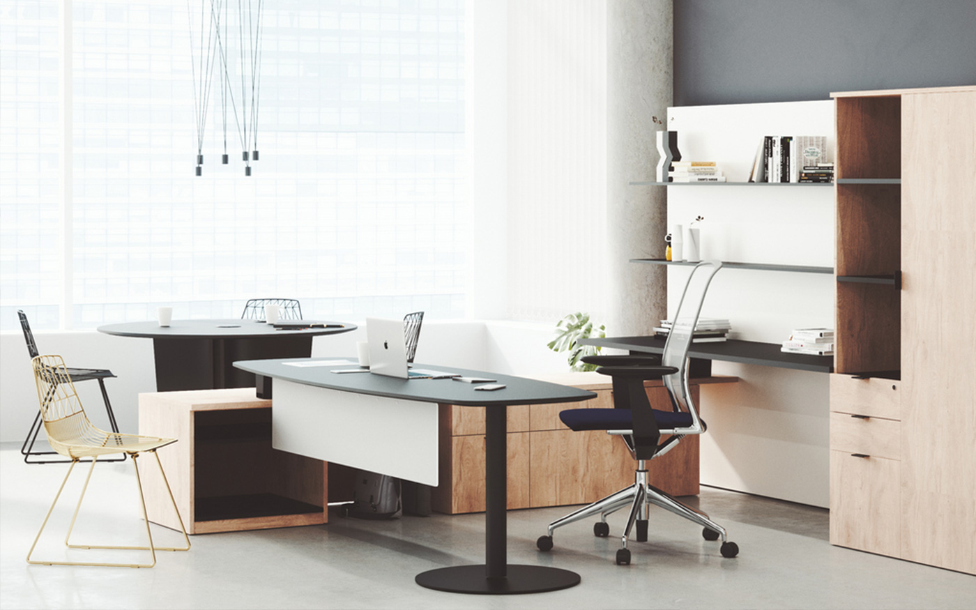 Height Adjustable Desk by BRC Group