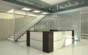 Reception Desk by BRC Group