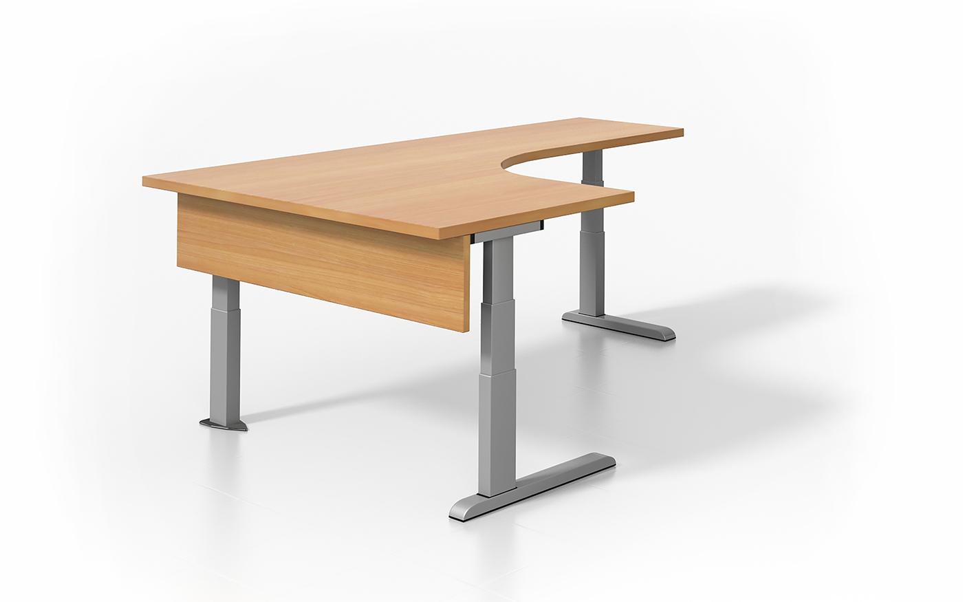 Viva 3 Leg Height Adjustable Desk